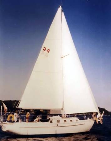 Photo 1987 39 HorizonMorgan Sloop, Blue Water Sailing Yacht - $45,000 (Shady Side)