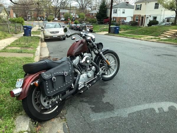 Photo 2000 Harley Sportster 1200cc - $2,400 (Markham, VA)