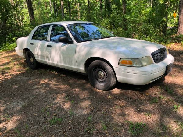 Photo 2002 FORD CROWN VIC POLICE INTERCEPTOR CROWN VICTORIA $2200 - $2200 (HOLLYWOOD)