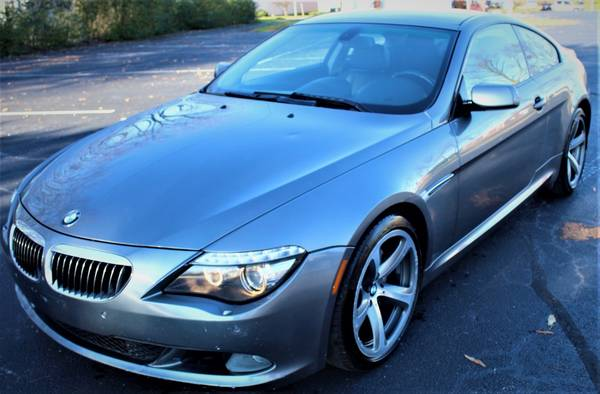 Photo 2008 BMW 6 Series 650i Coupe 2D WARRANTY FINANCING - $10,494 ((240) 518-8709 2008 BMW 6 Series)