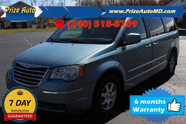 Photo 2009 Chrysler Town  Country Touring Minivan 4D WARRANTY F - $5,974 ((240) 518-8709 2009 Chrysler Town  Country)