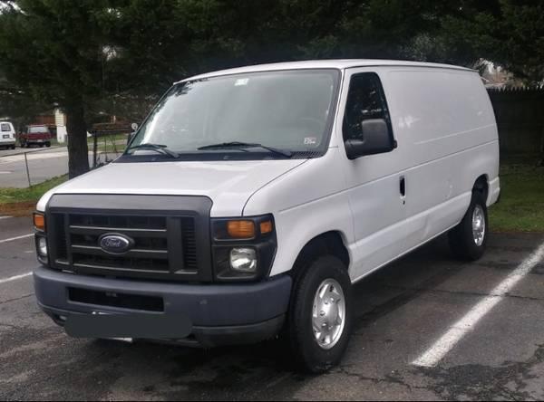 Photo 2012 Ford E250 cargo van 70K Miles - $11,500 (Alexandria)