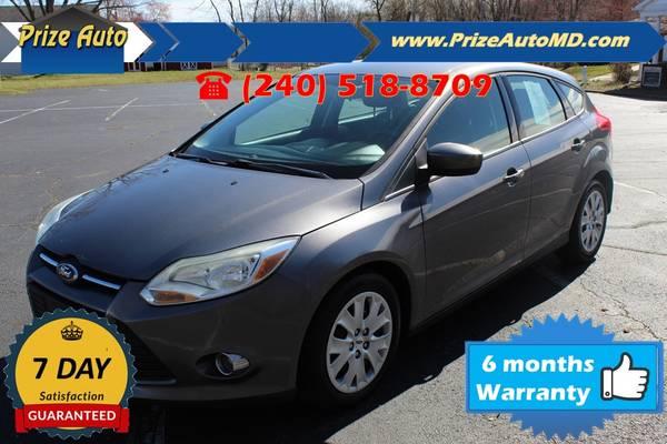 Photo 2012 Ford Focus SE Hatchback 4D WARRANTY FINANCING - $4994 ((240) 518-8709 Ford Focus)