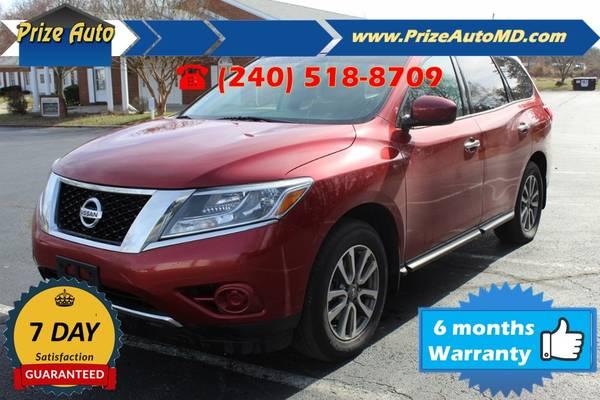 Photo 2014 Nissan Pathfinder S Sport Utility 4D WARRANTY FINANCI - $11394 ((240) 518-8709 Nissan Pathfinder)