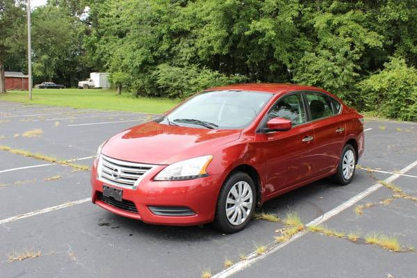 Photo 2015 Nissan Sentra SV Sedan 4D WARRANTY FINANCING - $7,774 ((240) 518-8709  Nissan   Sentra )