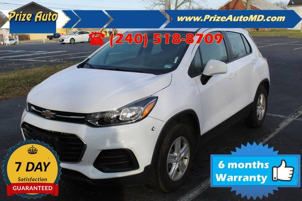 Photo 2018 Chevrolet Trax LS Sport Utility 4D WARRANTY FINANCING - $10994 ((240) 518-8709 Chevrolet Trax)