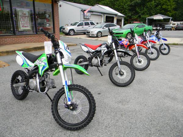 Photo 2020 Apollo X19 125cc Pit Bikes - $1,695 (Elkton)