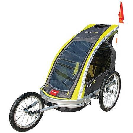 Photo Allen Sports Aluminum 2-Child Racing Jogger  Bike Trailer - $90 (Wildewood 20619)