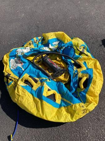 Photo Boat Tube and Manual Air Pump - $60
