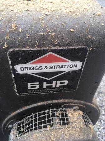 Photo Briggs and Stratton 5 hp Motor - $10 (Port Republic)