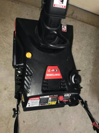 Photo Craftsman Snowblower 21IN Single Stage - Brand New - REDUCED - $400 (Lexington Park MD)