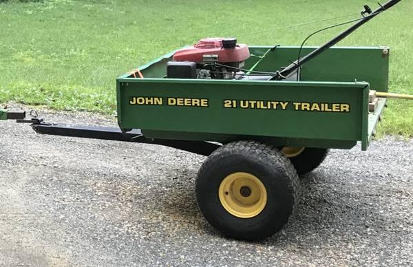 Photo John Deere 21 Utility Garden Cart Trailer - $599 (La Plata, MD)