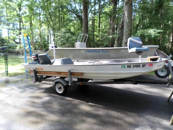 Photo Jon Boat 16 foot Wide Body - $3,000