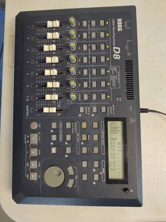 Photo Korg D8 Digital Recording Studio - $150 (St Leonard)