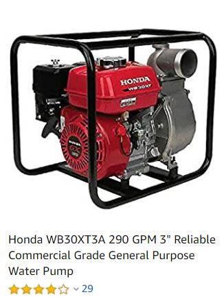 Photo New Honda Self Priming Trash Pump 3 Inch - $495 (St Leonard)