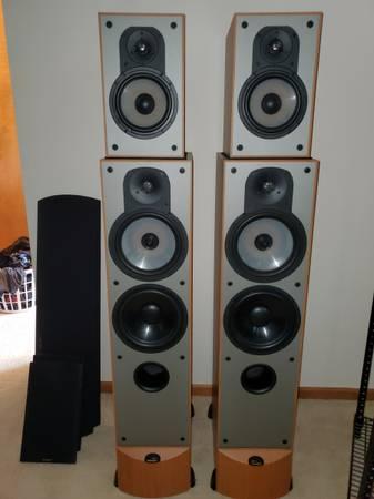 Photo Paradigm Speakers - $700 (Mechanicsville)