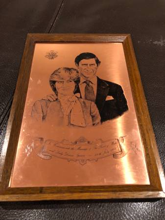 Photo Royal Prince Of Wales and Lady Diana Spencer Royal Wedding - $11 (Sterling)