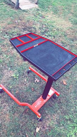 Photo Snap on rolling tool cart - $250