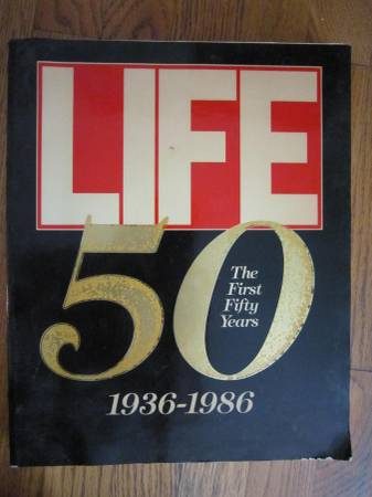 Photo Vintage Book  Life - The First 50 Years - $9 (Arlington)