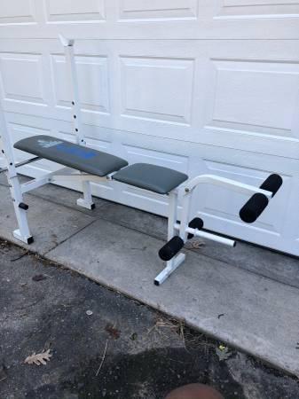 Photo Weider weight bench - $45 (Lusby)