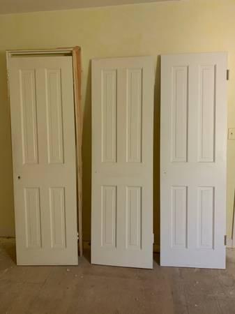 Photo solid wood interior door slabs - $60 (Fairfax)