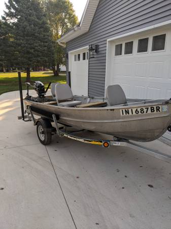 Photo 13 12 foot fishing boat for sale. - $2,795 (Milford Indiana)