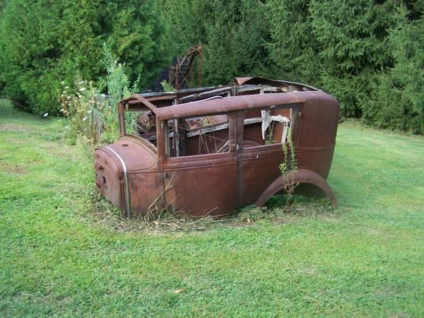 Photo 1930 Ford Blindback Body - $1,000 (Westville)