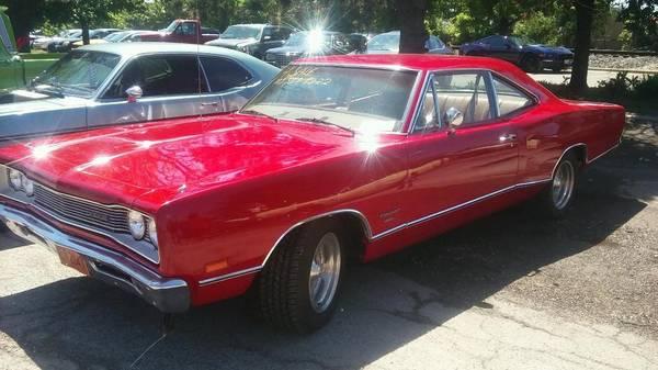 Photo 1969 dodge coronet 440 2 door 318 auto. ac - $16000 (NW Ind)