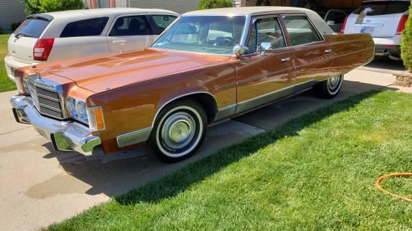 Photo 1975 Chrysler New Yorker - $10200 (South Bend)