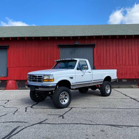 Photo 1997 F350 XLT  4x4  7.3L Diesel  West Coast Truck - $17900 (Mishawaka, IN)