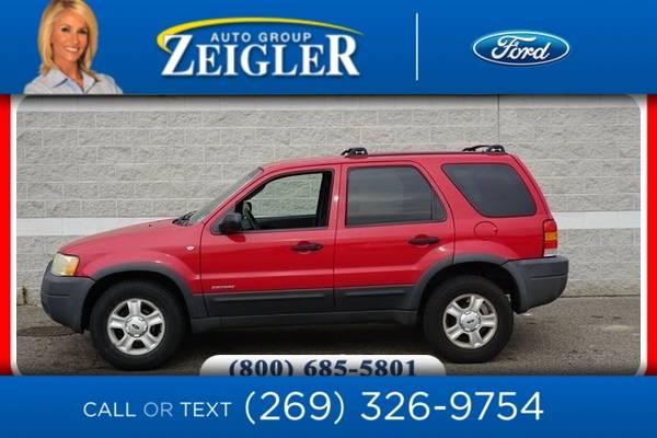 Photo 2002 Ford Escape XLT - $2,960 (_Ford_ _Escape_ _SUV_)