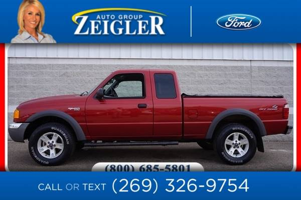 Photo 2003 Ford Ranger XLT - $7500 (_Ford_ _Ranger_ _Truck_)