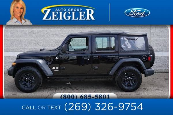 Photo 2018 Jeep All-New Wrangler Unlimited Unlimited Sport - $34,990 (_Jeep_ _All-New Wrangler Unlimited_ _SUV)