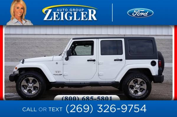 Photo 2018 Jeep Wrangler JK Unlimited Unlimited Sahara - $31500 (_Jeep_ _Wrangler JK Unlimited_ _SUV_)