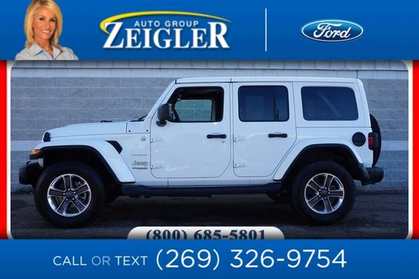Photo 2019 Jeep Wrangler Unlimited Unlimited Sahara - $35990 (_Jeep_ _Wrangler Unlimited_ _SUV_)