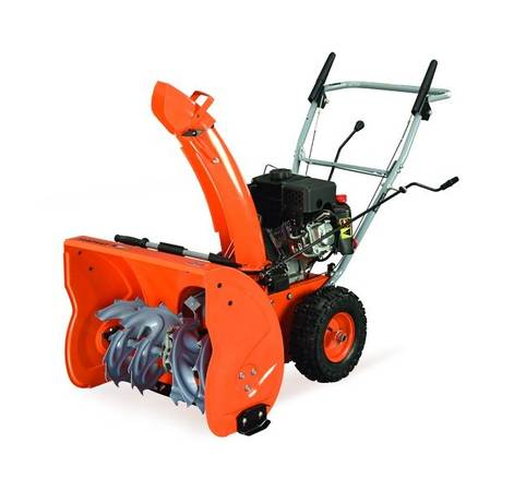 Photo 2- Yardmax 22 inch Two-Stage Snow Blower NEW - $325 (GoshenSyracuse)