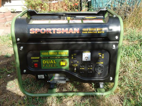 Photo 3500 watt dual-fuel generator - $300 (Elkhart)