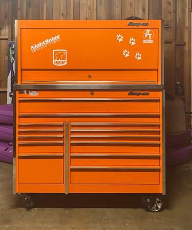 Photo 54 13 drawer master series snap-on tool box - $6,000 (Niles)