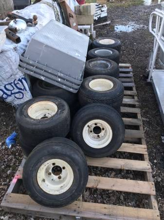 Photo $5---Golf Cart Tires---$5--Pick from 18 --LOOK - $5 (Goshen)