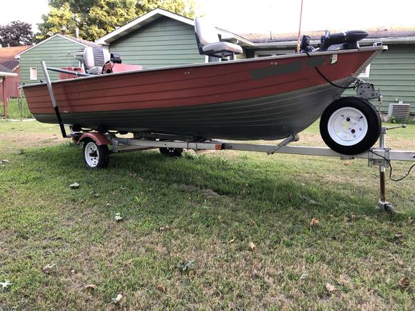 Photo Aluminum boat-package deal-no issues - $3,200 (Walkerton)