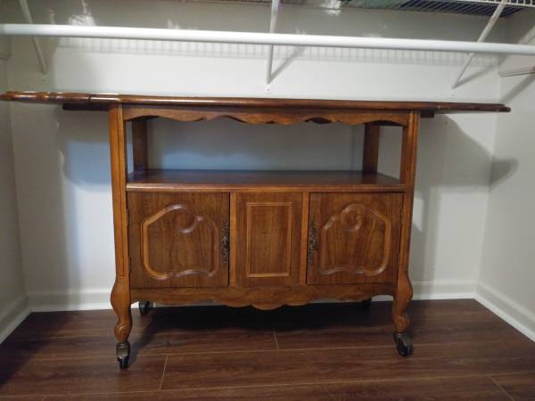 Photo Beautiful and Taken Care Of SERVER Cabinet With Drop Leaf Sides - $150 (Elkhart)