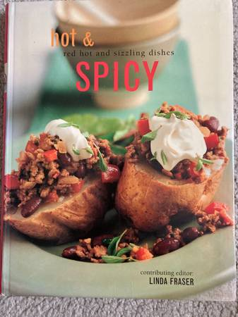 Photo Cook book - Hot  Spicy Red Hot and Sizzling Dishes - $10 (Vernon Hills)