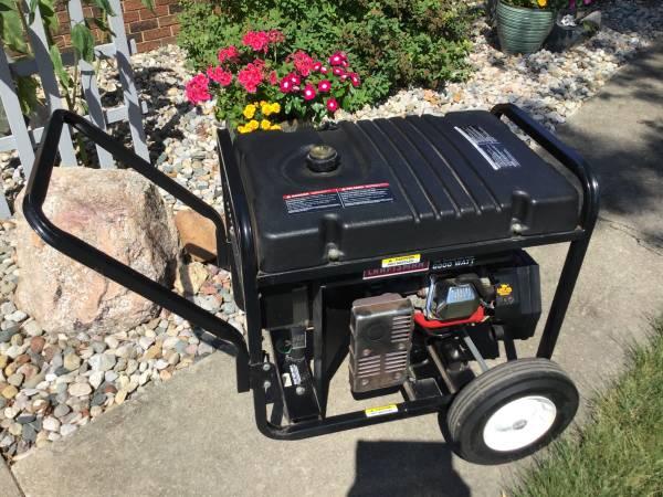 Photo Craftsman Generator 6000 watt - $525 (Bremen)