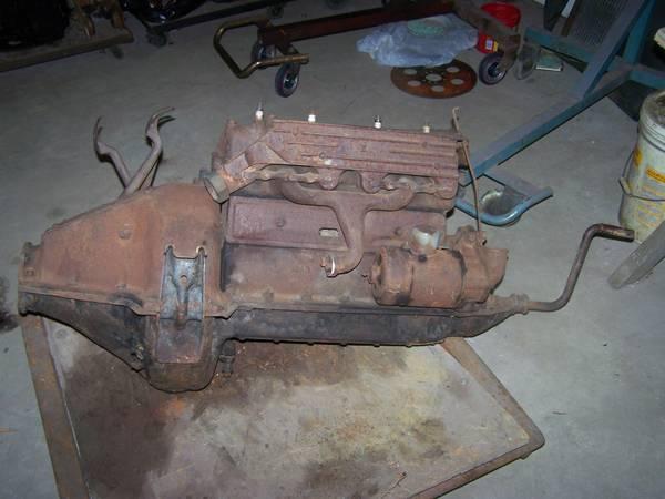 Photo Ford Model T Motor (Westville)