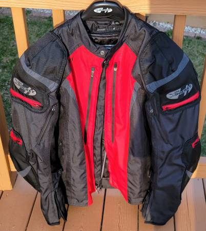 Photo Joe Rocket Motorcycle jacket Brand New Mens 2XL - $130 (LaPorte)