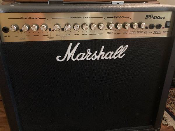 Photo MARSHALL MG100DFX  100W GUITAR AMPLIFIER  GREAT WORKING CONDITION - $325 (RAVENSWOOD  EDGEWATER)