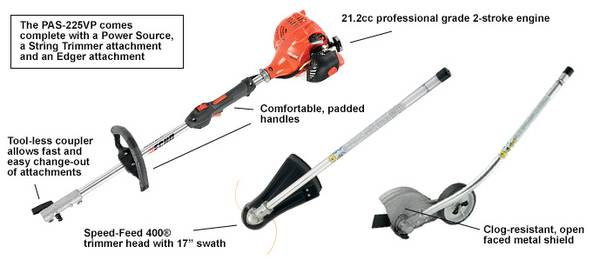 Photo NEW Echo 21.2 cc Gas 2-Stroke Cycle Edger and Trimmer Weed Eater Wacke - $290 (GoshenSyracuse)
