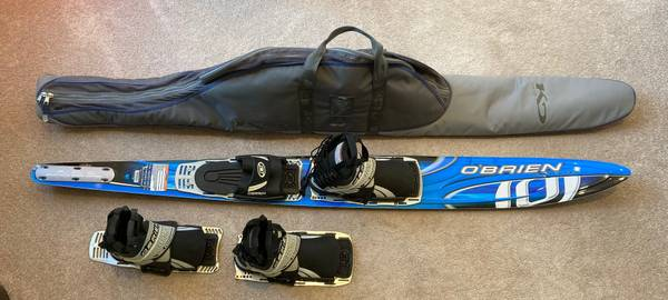 Photo O39Brien Siege Slalom Water Ski and Bag - $279 (Edwardsburg)