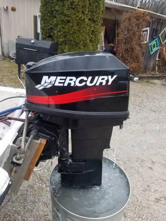 Outboard Motor Mercury 25 Hp 2 Stroke 1300 Nappanee Boats For Sale South Bend In Shoppok