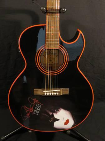 Photo Paul Stanley Washburn electric acoustic - $550 (LaPorte)